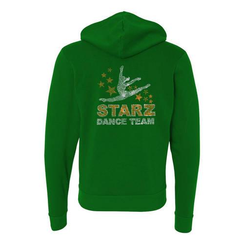 MoveU Unisex Full Zip Hooded Dance Sweatshirt : GP099
