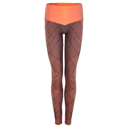 MOVE U Dark Stripe Custom Mid-Rise Dance Leggings : GP185