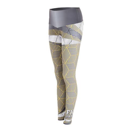 MOVE U Geo Swash Custom Mid-Rise Dance Leggings : GP187