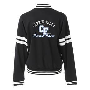 MOVE U Varsity Custom Dance Team Bomber Track Jacket
