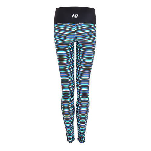 MOVE U Stripes Custom Mid-Rise Dance Leggings : GP192