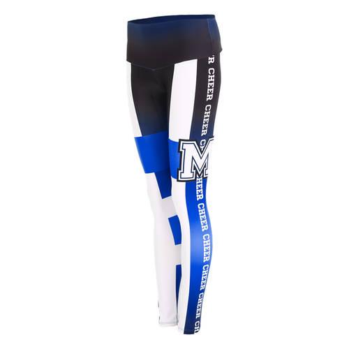MOVE U Tape Custom Mid-Rise Cheer Leggings : GP194
