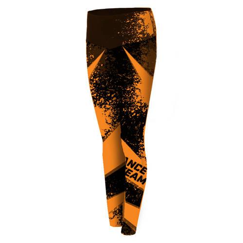 MOVE U Legendary Custom Mid-Rise Dance Leggings : GP197