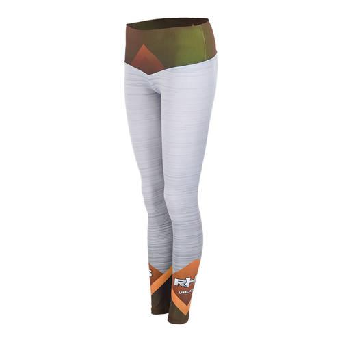 MOVE U Brushed Metal Custom Mid-Rise Dance Leggings : GP244