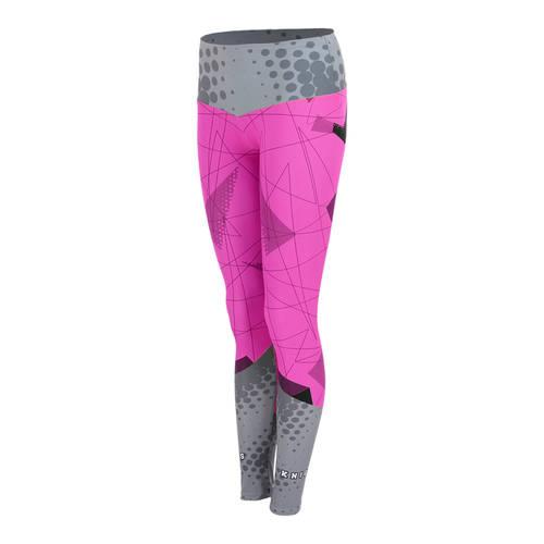MOVE U Blok Custom Mid-Rise Dance Leggings : GP245