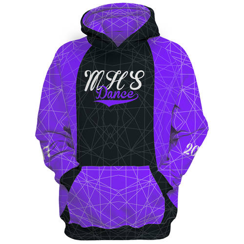 MOVE U Netscript Custom Dance Team Hoodie : GP346