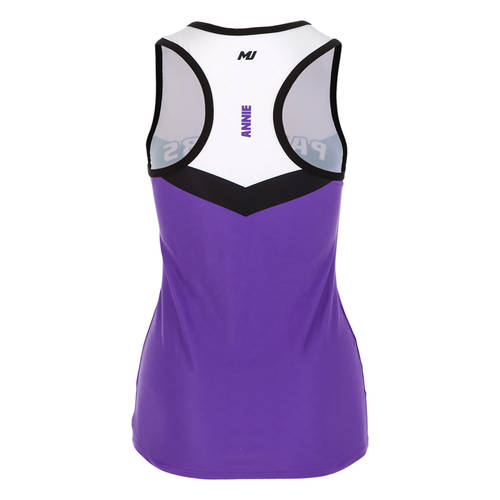 MOVE U Built Custom Racerback Cheer Tank Top : GP398