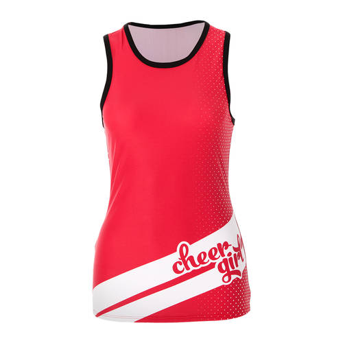 MOVE U Ladybug Custom Racerback Cheer Tank Top : GP405