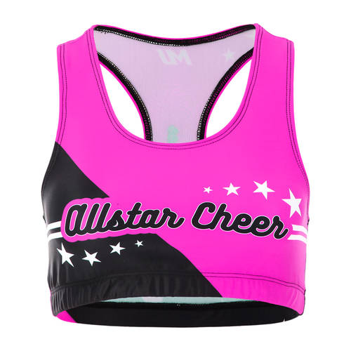 MOVE U AllStarz Custom Cheer Bra Top : GP410