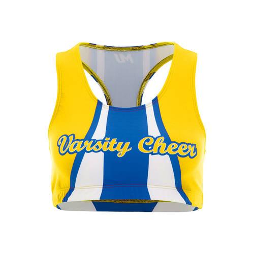 MOVE U Racer Custom Cheer Bra Top : GP425