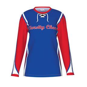 MOVE U Racer Custom Long Sleeve Cheer Team Jersey
