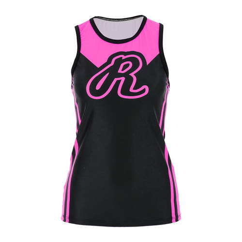 MOVE U Bold Custom Racerback Cheer Tank Top : GP440