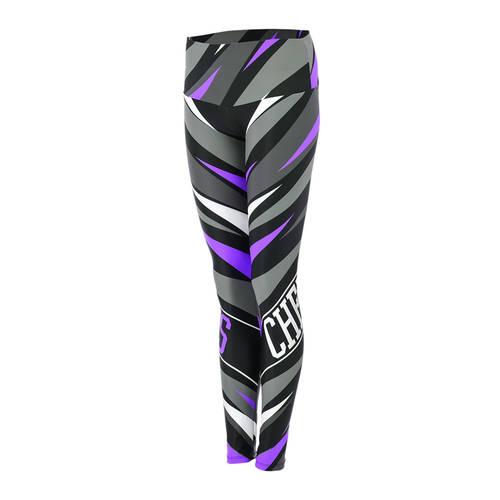 MOVE U Max Custom Mid-Rise Cheer Leggings : GP446