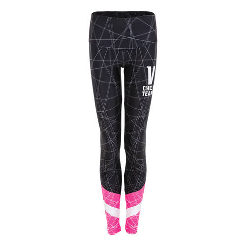 MOVE U Streak Custom Mid-Rise Cheer Leggings : GP459