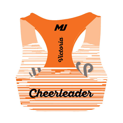 MOVE U Power Custom Cheer Bra Top : GP468
