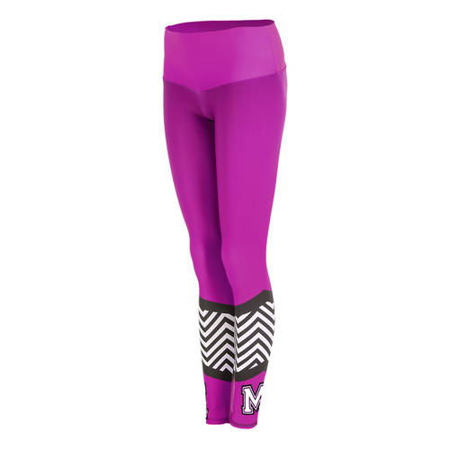MOVE U Zag Custom Mid-Rise Cheer Leggings : GP477
