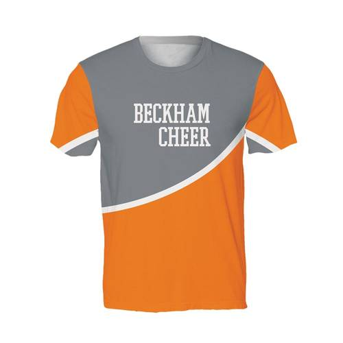 MOVE U Bow Custom Mens Cheer T-Shirt : GP532