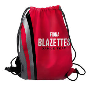 MOVE U Blaze Custom Dance Team Cinch Sack