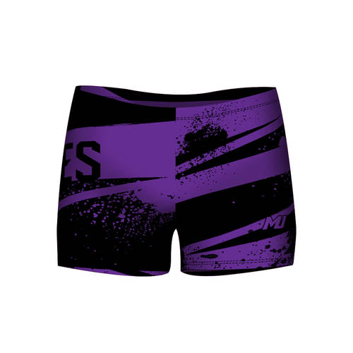 MOVE U Legendary Custom Dance Team Booty Shorts : GP707