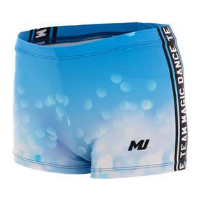 MOVE U Sparkle Custom Dance Team Booty Shorts