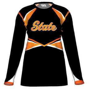 MOVE U Base Custom Long Sleeve Cheer Team Jersey