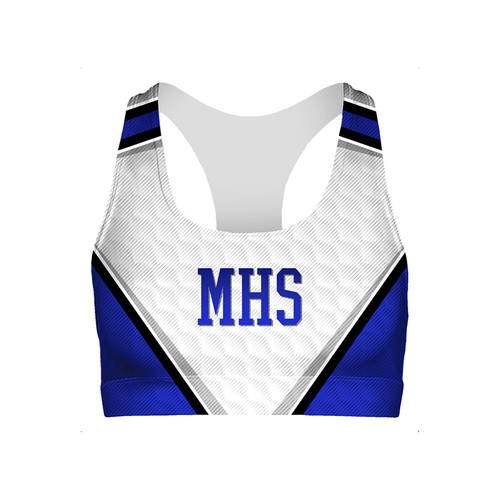 MOVE U Magic Custom Cheer Bra Top : GP819
