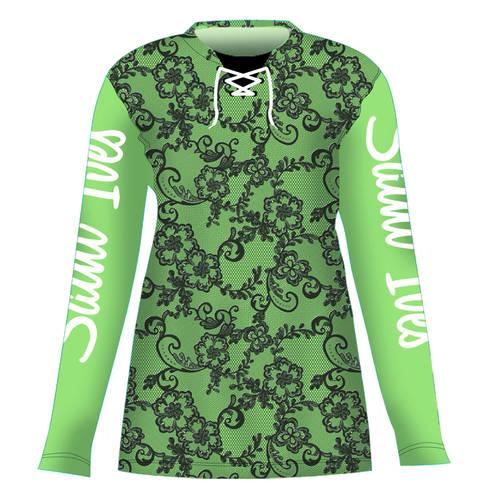 MOVE U Lace Custom Long Sleeve Cheer Team Jersey : GP836