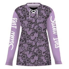 MOVE U Lace Custom Long Sleeve Cheer Team Jersey