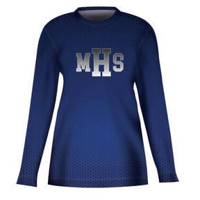MOVE U Undercover Custom Long Sleeve Cheer Team Jersey