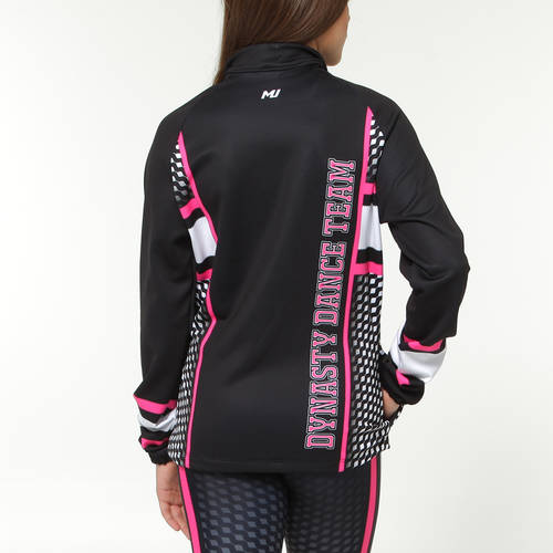 MOVE U Dynasty Custom Dance Team Warm Up Jacket : GP916
