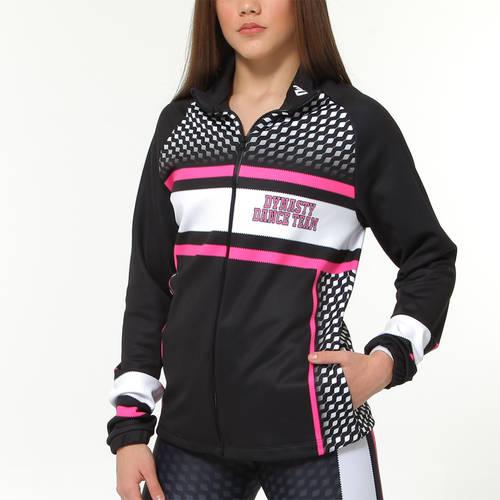 MOVE U Dynasty Custom Dance Team Warm Up Jacket : GP916
