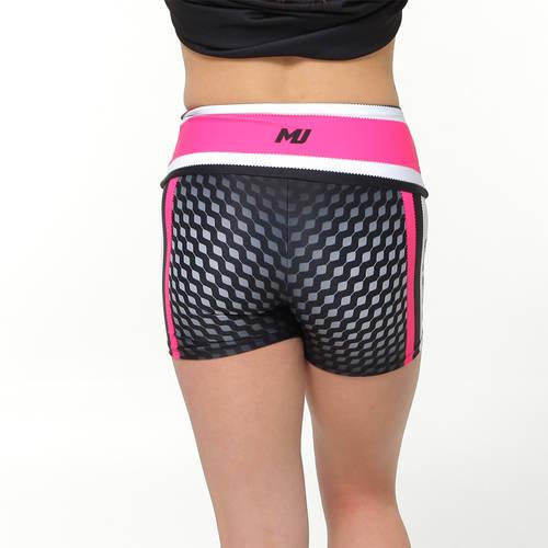 MOVE U Dynasty Custom Mid-Rise Dance Team Shorts : GP922