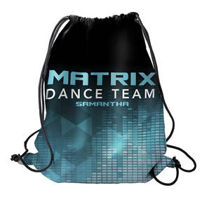 MOVE U Matrix Custom Dance Team Cinch Sack