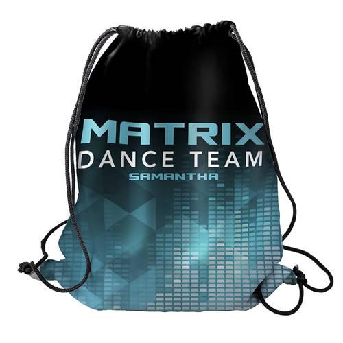 MOVE U Matrix Custom Dance Team Cinch Sack : GP947