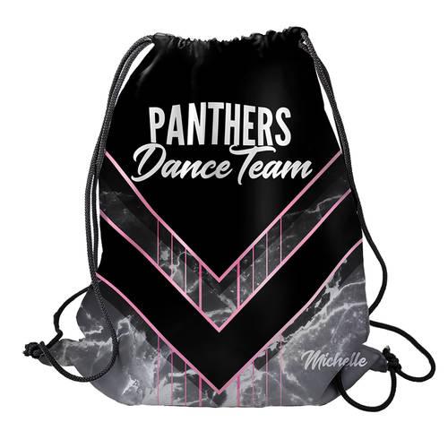 MOVE U Panthers Custom Dance Team Cinch Sack : GP957