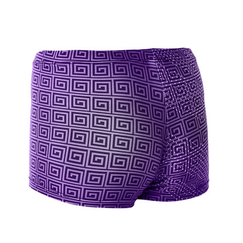 MOVE U Samoan Custom Dance Booty Shorts : J232002