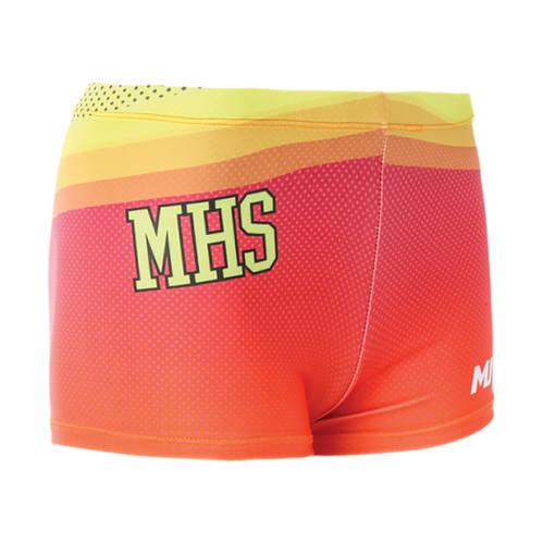 MOVE U Digi-Dotz Custom Dance Booty Shorts : J232003