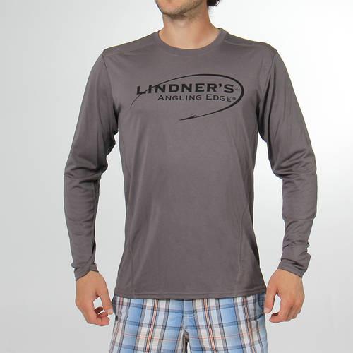 Charcoal Grey Long Sleeve Performance T-shirt