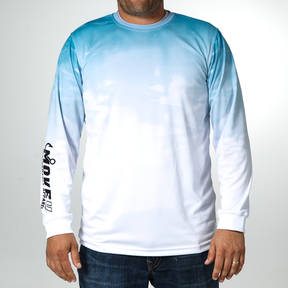 MOVE U Reflection Long Sleeve Fishing Jersey