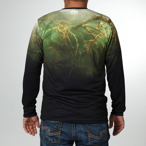 MOVE U Underwater Long Sleeve Fishing Jersey : MF1004