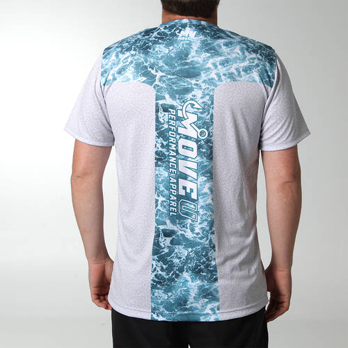 Oceanbreeze Short Sleeve Fishing Jersey : MF1007