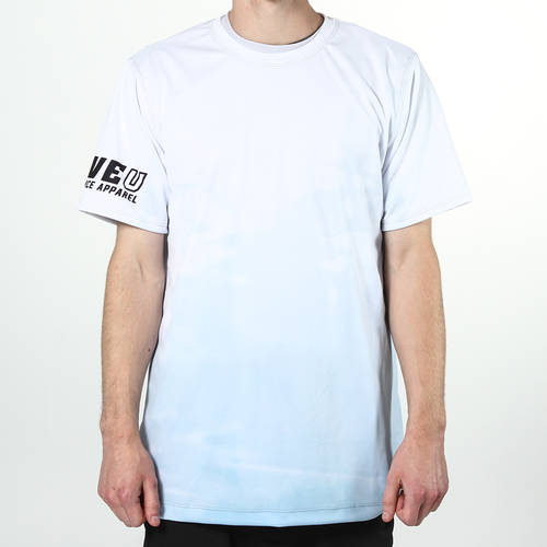 MOVE U Reflection Short Sleeve Fishing Jersey : MF1013