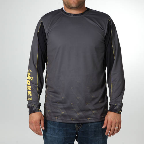 MOVE U Jolt Long Sleeve Fishing Jersey : MF1026