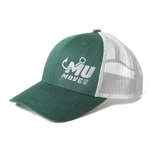 MOVE U Heather Green Fishing Hat : MF2000
