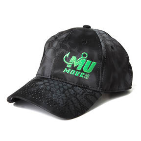 MOVE U Fishing Black Kryptek Hat