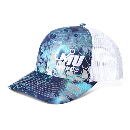 MOVE U Fishing Mist Custom Snapback Trucker Hat : MF2010