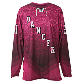 MOVE U Pop Floral Custom Dance Team Jersey