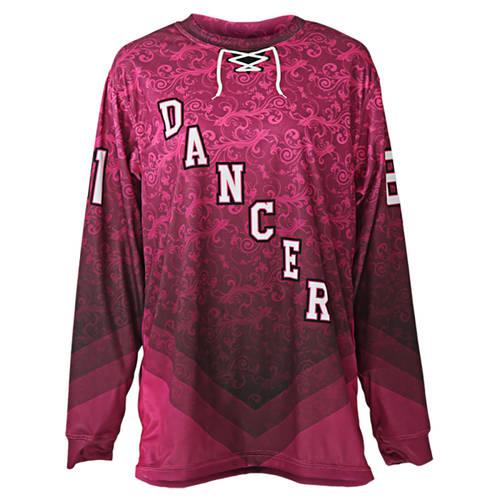 MOVE U Pop Floral Custom Dance Team Jersey : MU1025
