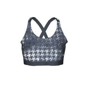 Houndstooth Bra Top