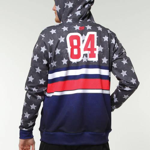 MOVE U American Custom Softball Team Hoodie : SF1002